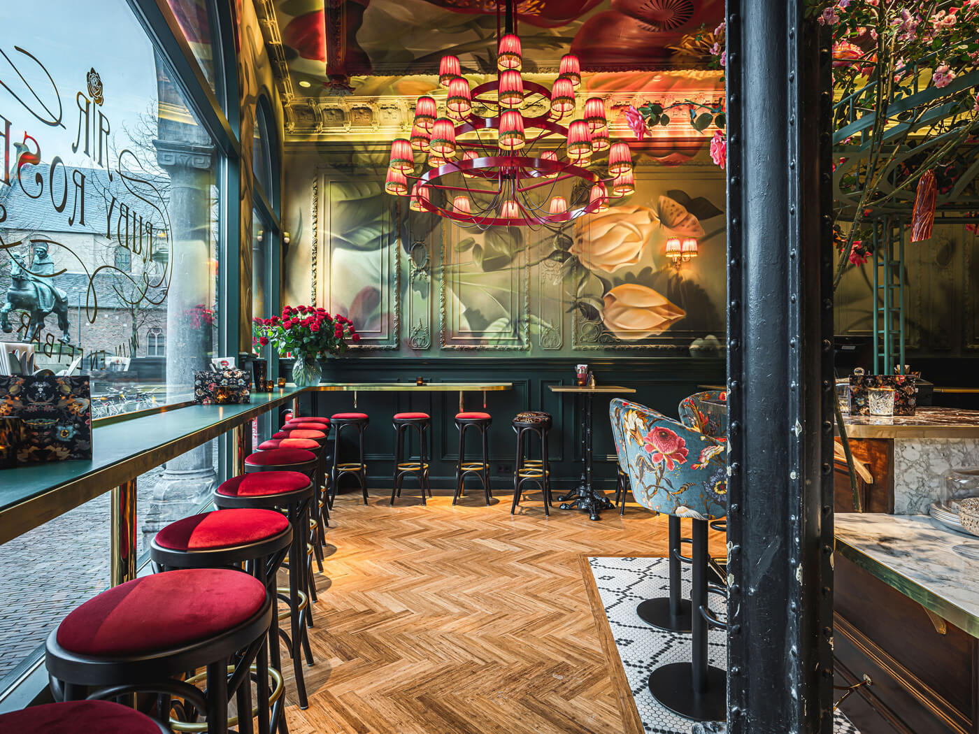 Horeca design Ruby Rose Utrecht