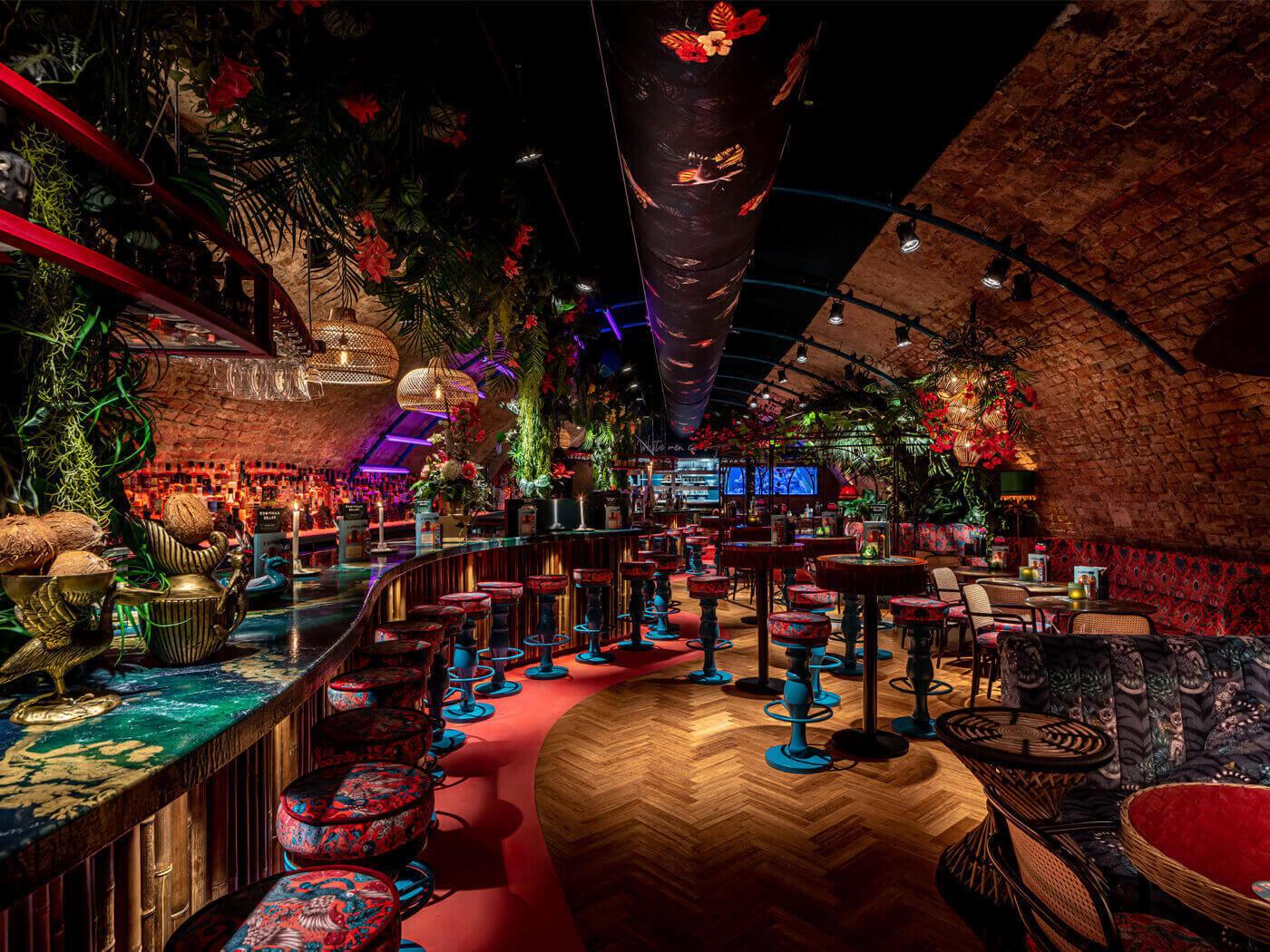 Horeca interieurdesign Rum Club Utrecht