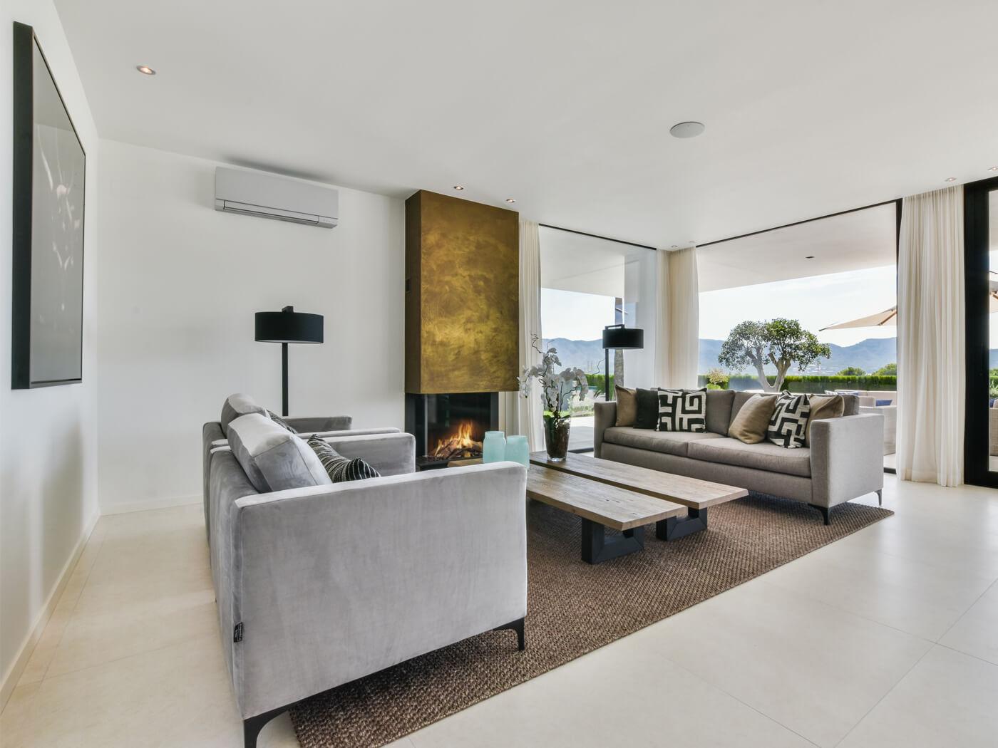 Interieurdesign Villa Mendoza Spanje
