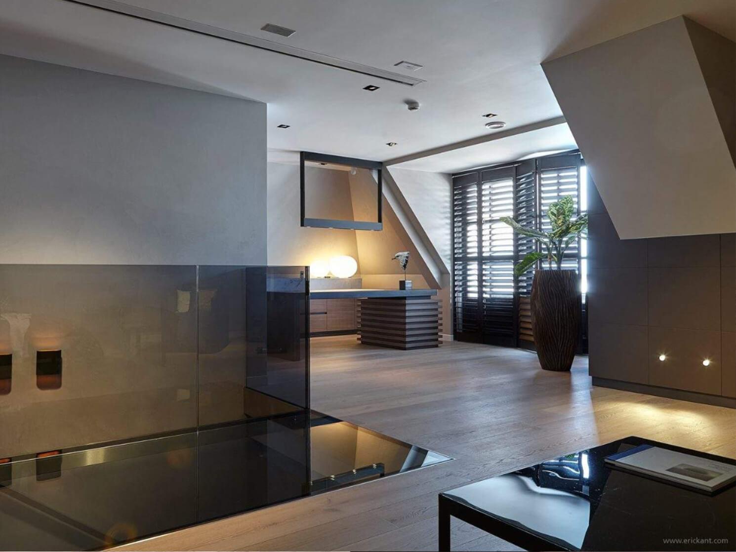 Interieur design Penthouse Tielemans Eric Kant