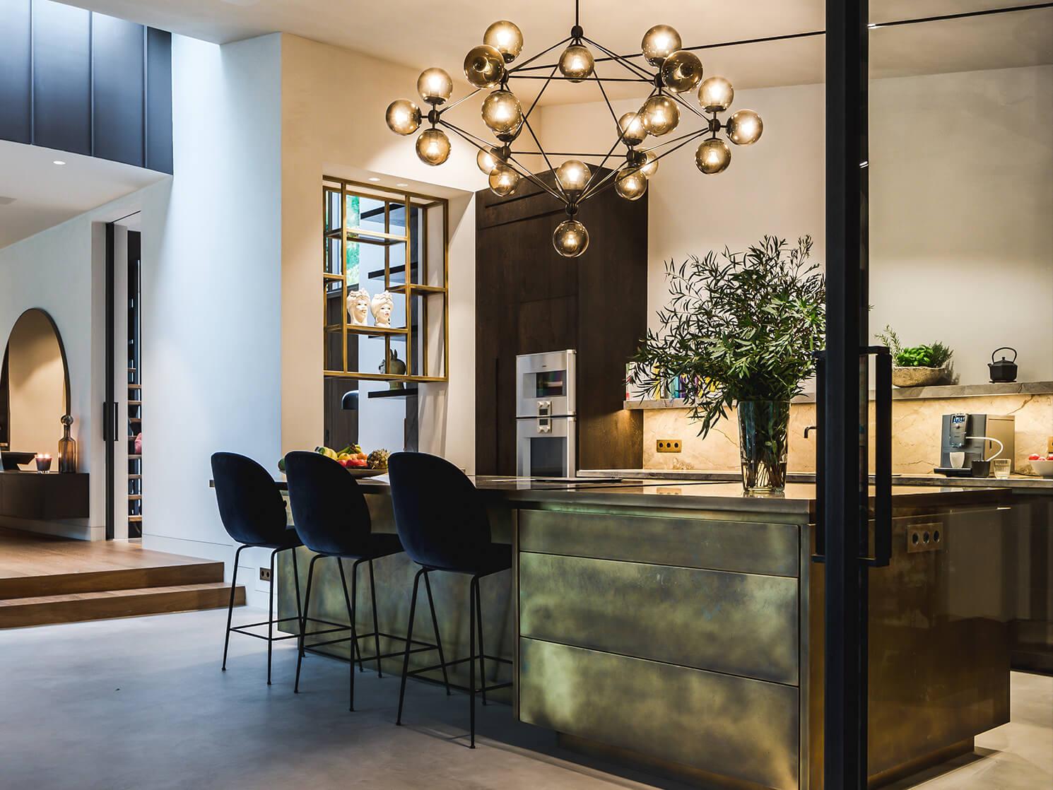 Interieur design Villa Bergen Rocco en Yadine