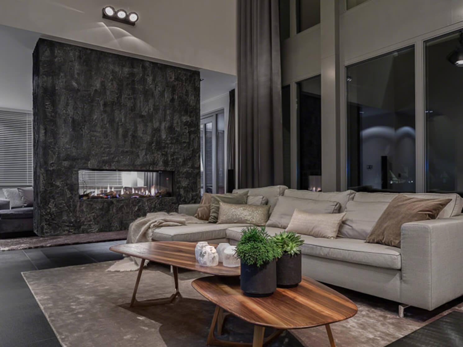 Interieur design Villa Rommedahl