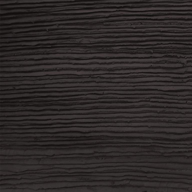 Chocolade taart glazuur look stuc zwart