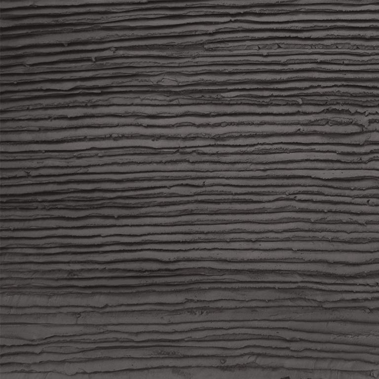 Chocolade taart glazuur look stuc antraciet