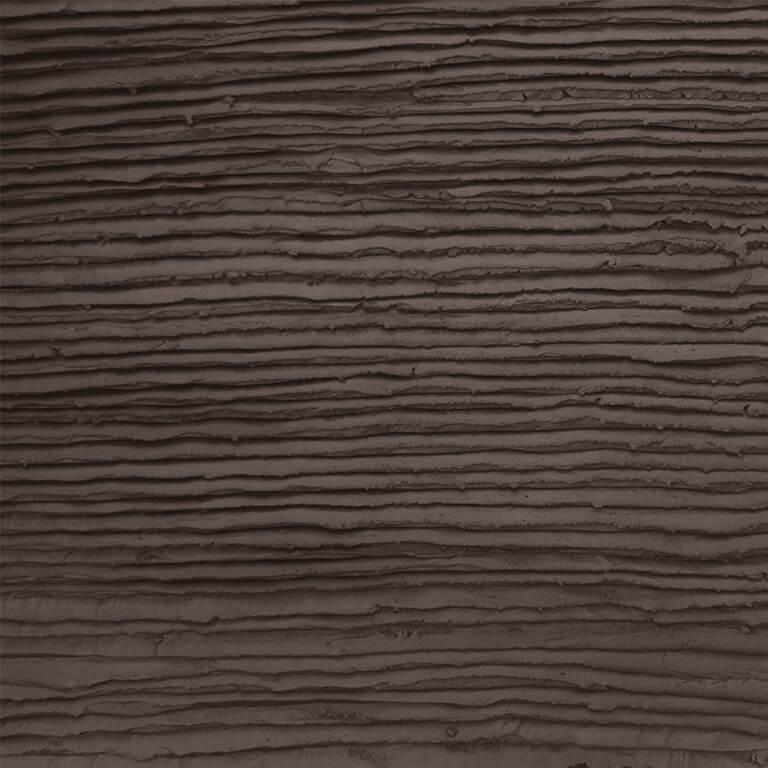 Chocolade taart glazuur look stuc bruin