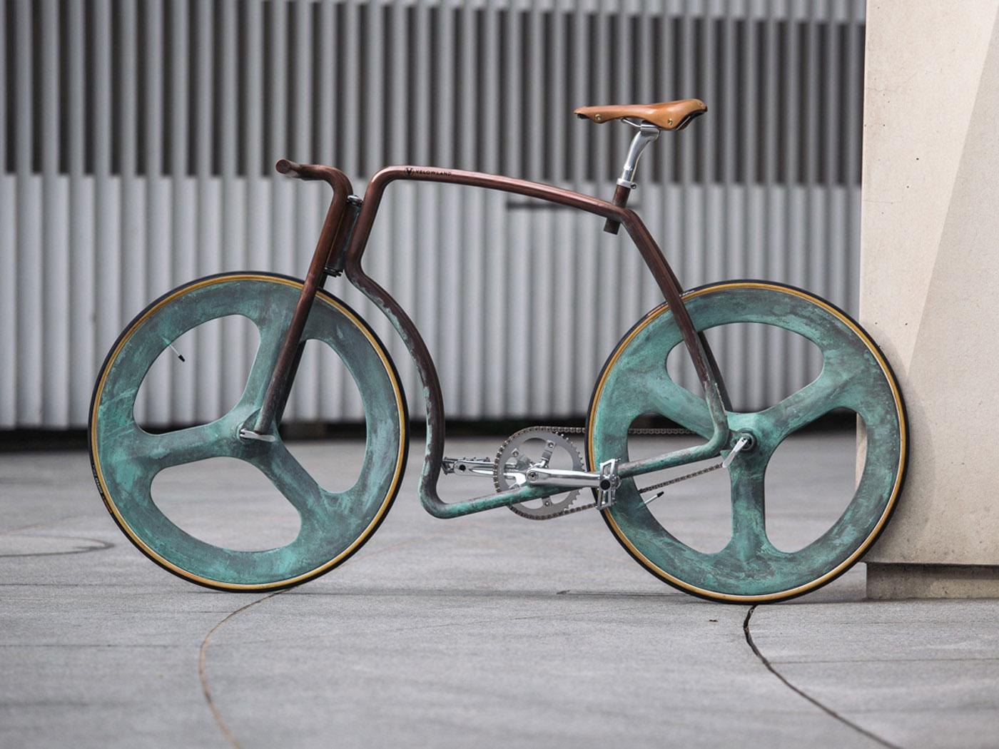 Cobre stuc fiets