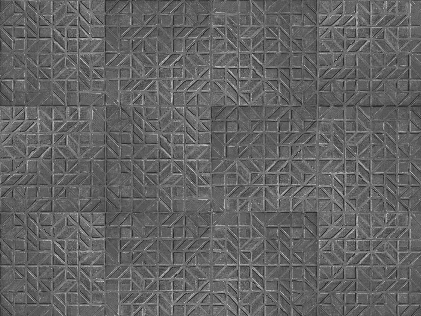 Pattern stucwerk patroon