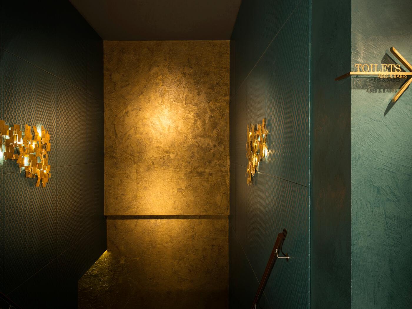 Stucwerk Fine riche gold