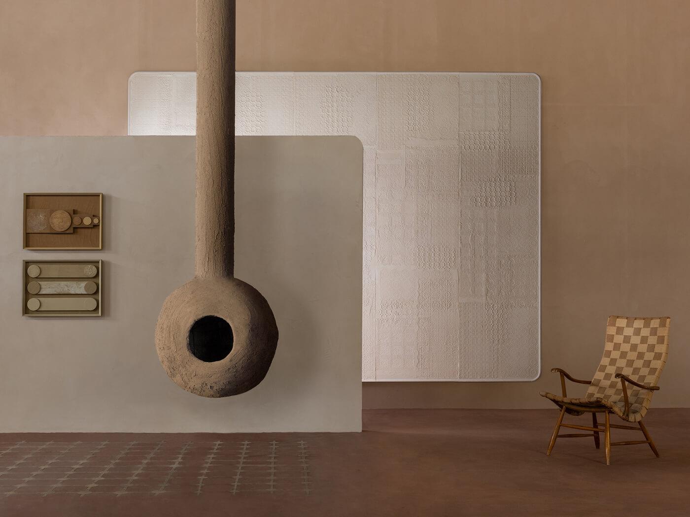 Stucwerk Terra Evoca Matteo Brioni